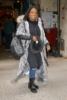 Kandi Burruss leaving studios of Kelly & Ryan Show