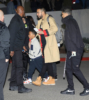 French Montana and son Kruz attend Jay-Z's 4:44 concert