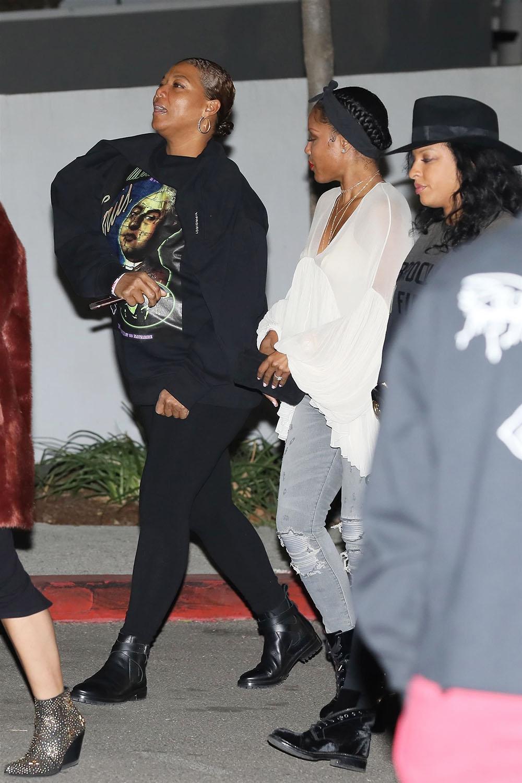 Queen Latifah And Girlfriend 2017