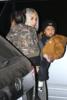 Kim Kardashian & Kourtney Kardashian take the kids ice skating