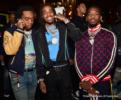 Migos Attend Gucci Mane Album Release Party at Gold Room in Atlanta
