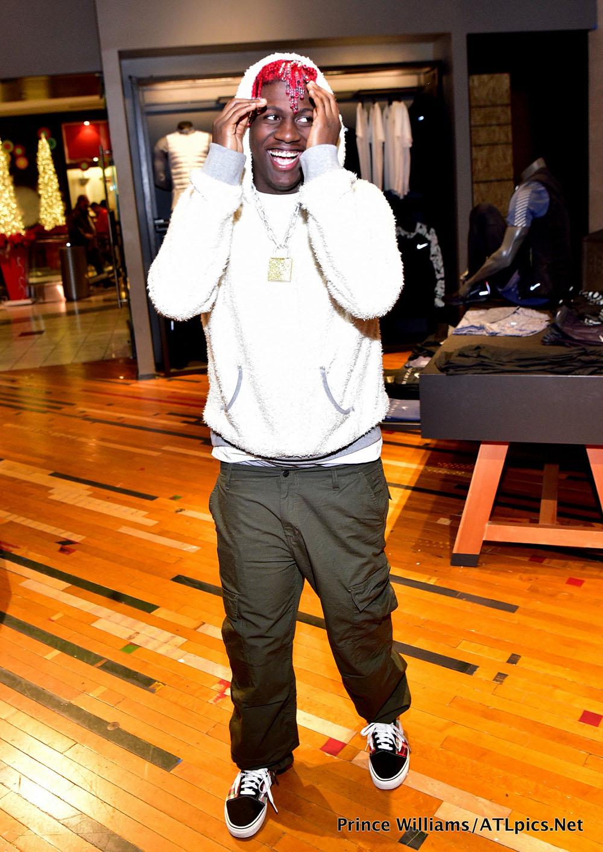 Rapper Li'l Yachty at Lenox Square Mall