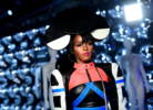Janelle Monae at 29Rooms L.A. Grand Opening