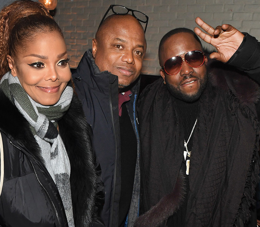 Janet Jackson, Randy Jackson, Big Boi at Janet Jackson Concert After Party