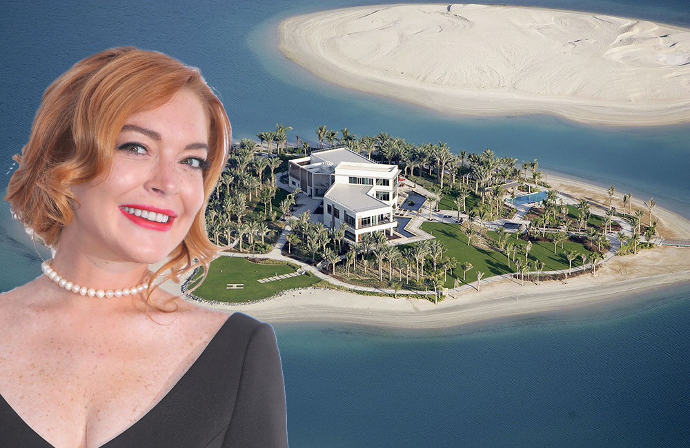 Lindsay Lohan in Dubai