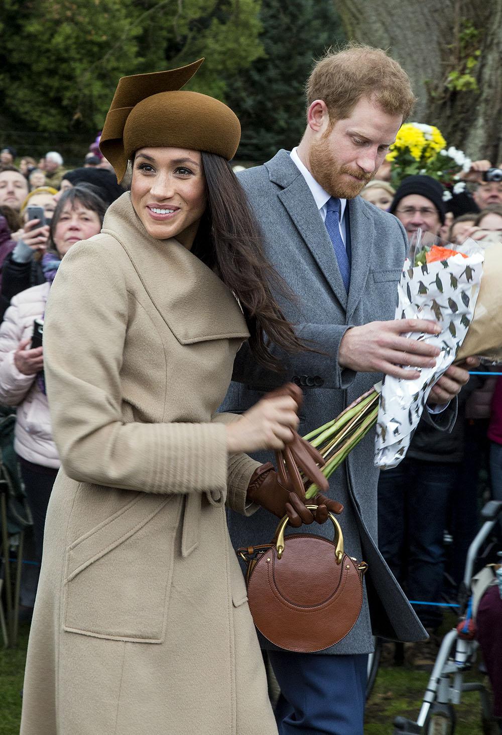 Prince Harry & Meghan Markle joins the Royal family at Sandringham on Christmas Day