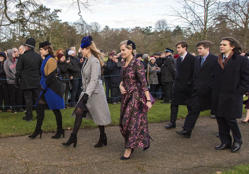 princess eugenie princess beatrice and sophie countess