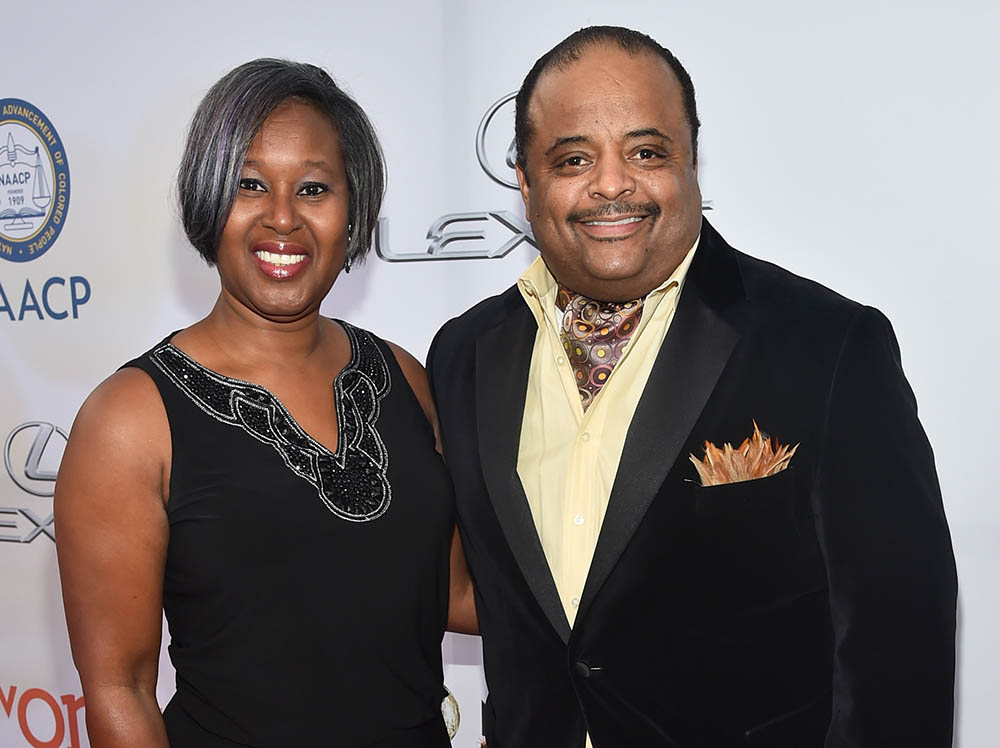 Roland Martin and wife Jacquie Hood