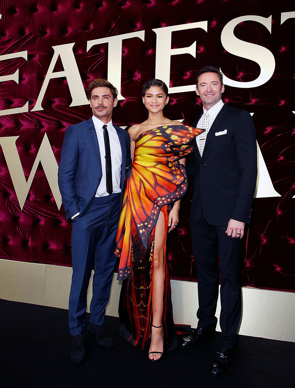 Zac Efron, Zendaya, Hugh Jackman attend The Greatest Showman Sydney Premiere