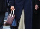 Meghan Markle handbag detail