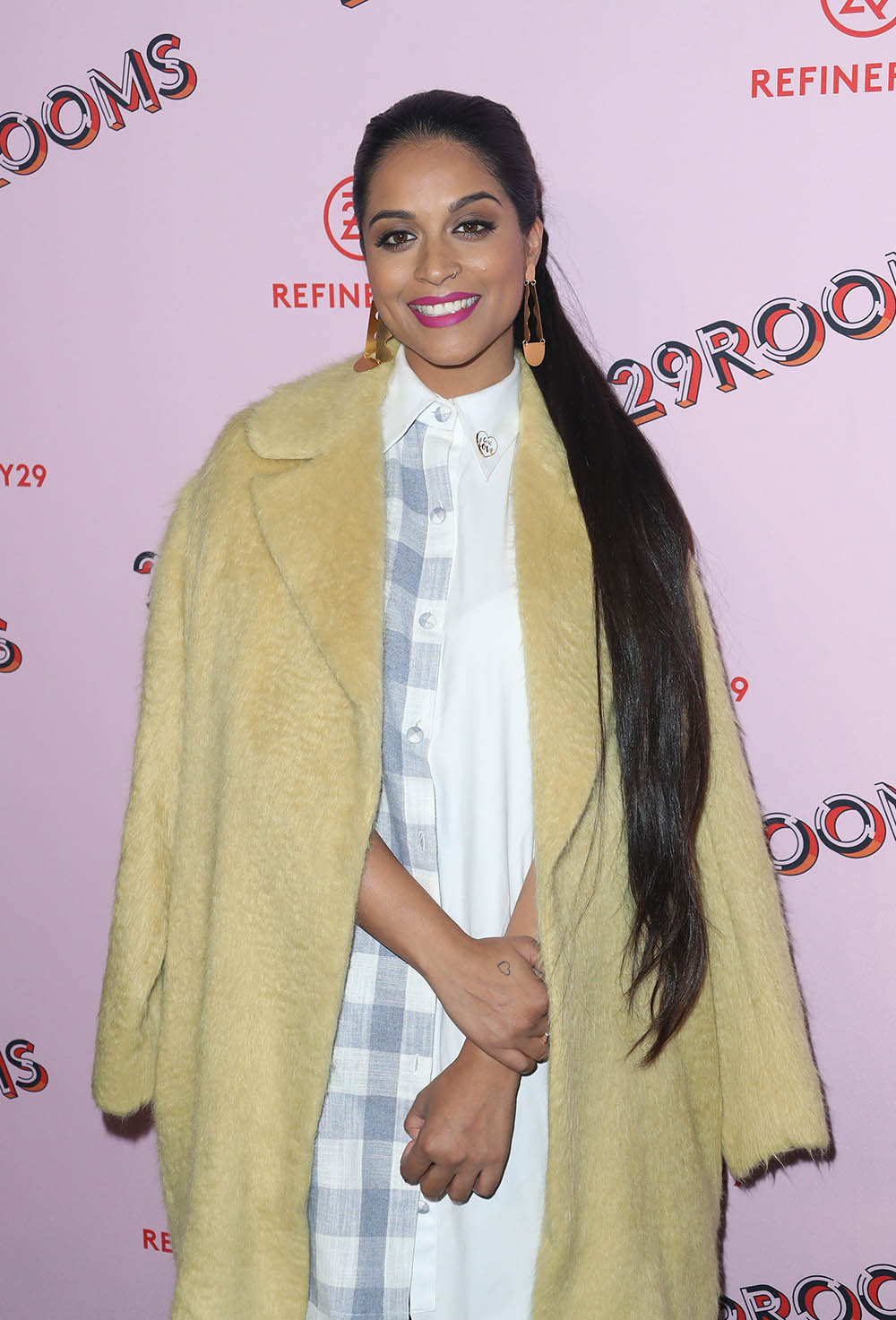 Lilly Singh at 29Rooms L.A. Grand Opening