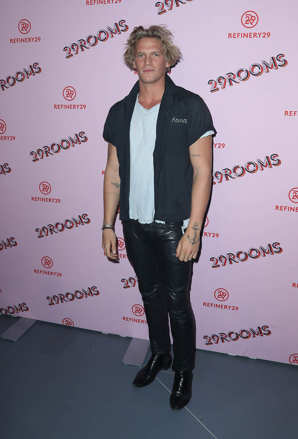 Cody Simmons at 29Rooms L.A. Grand Opening