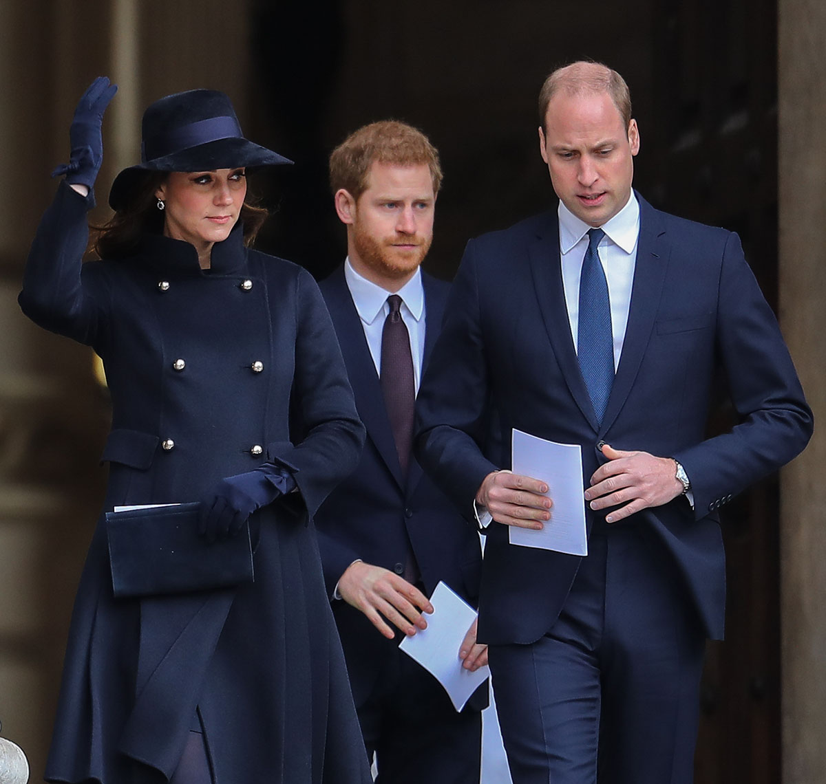 Prince William, Kate Middleton, Prince Harry attend Grenfell Tower National Memorial Service