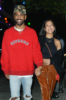 Big Sean & Jhene Aiko at Matsuhisa restaurant