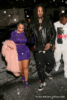 Waka Flocka and Tammy Rivera arrive at Gold Room