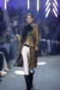 A model walks the runway for Alexandre Vauthier at Paris Fashion Week