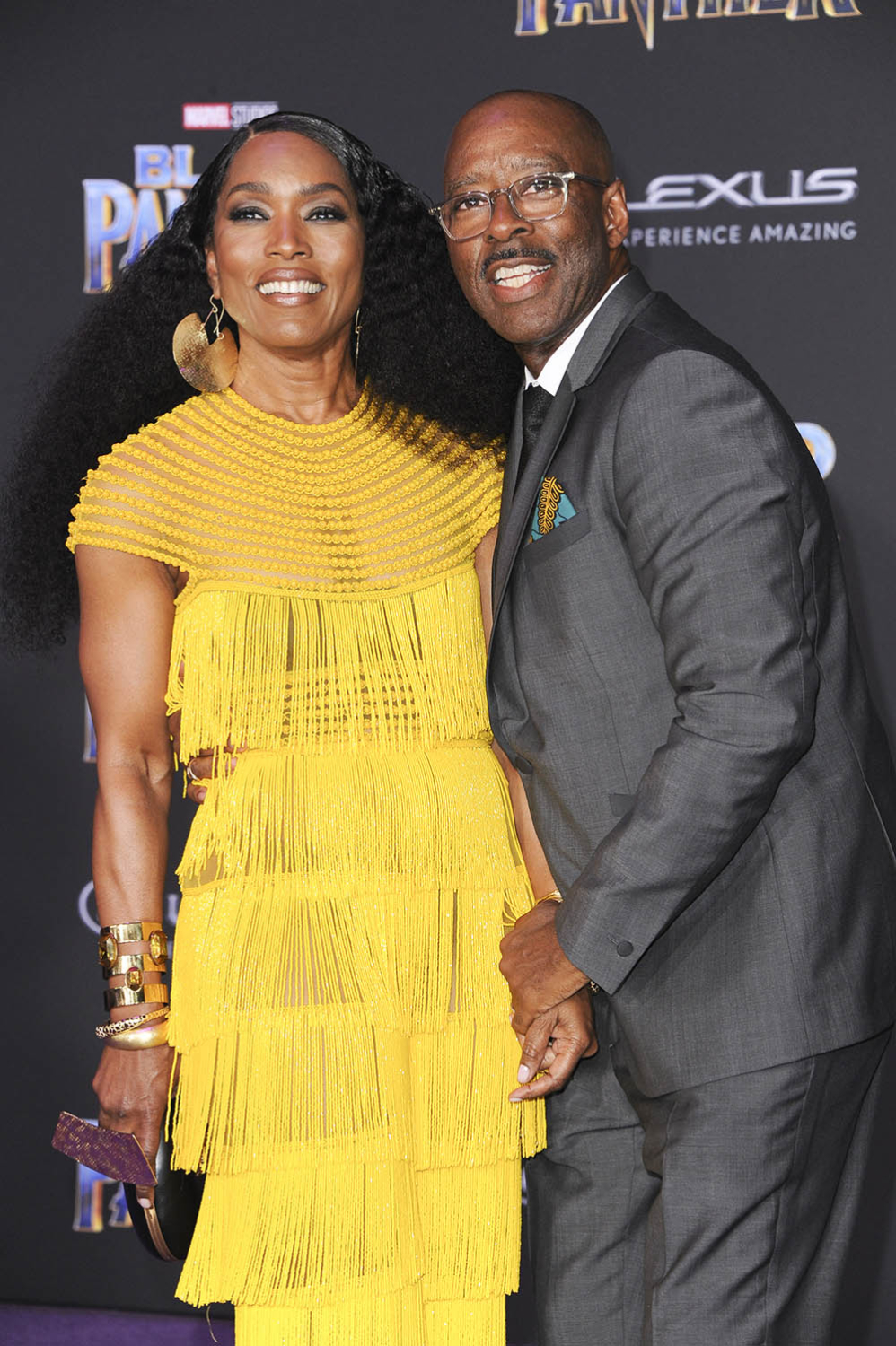 Best Interior Design Schools >> Courtney B. Vance & Angela Bassett at Film Premiere of Black Panther | Sandra Rose