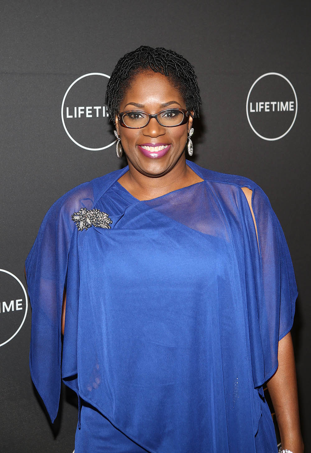 Antoinette Tuff at Lifetime Premiere of Faith Under Fire
