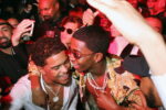 Sean Combs' sons Justin, left, and Christian Combs at his New Year's Eve Party
