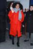 Yara Shahidi seen leaving Good Morning America