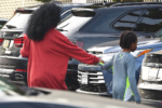 Diana Ross and grandson Raif Henok Kendrick go grocery shopping