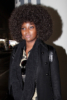 Amara La Negra arrives in LA with her Afro Wig in full bloom