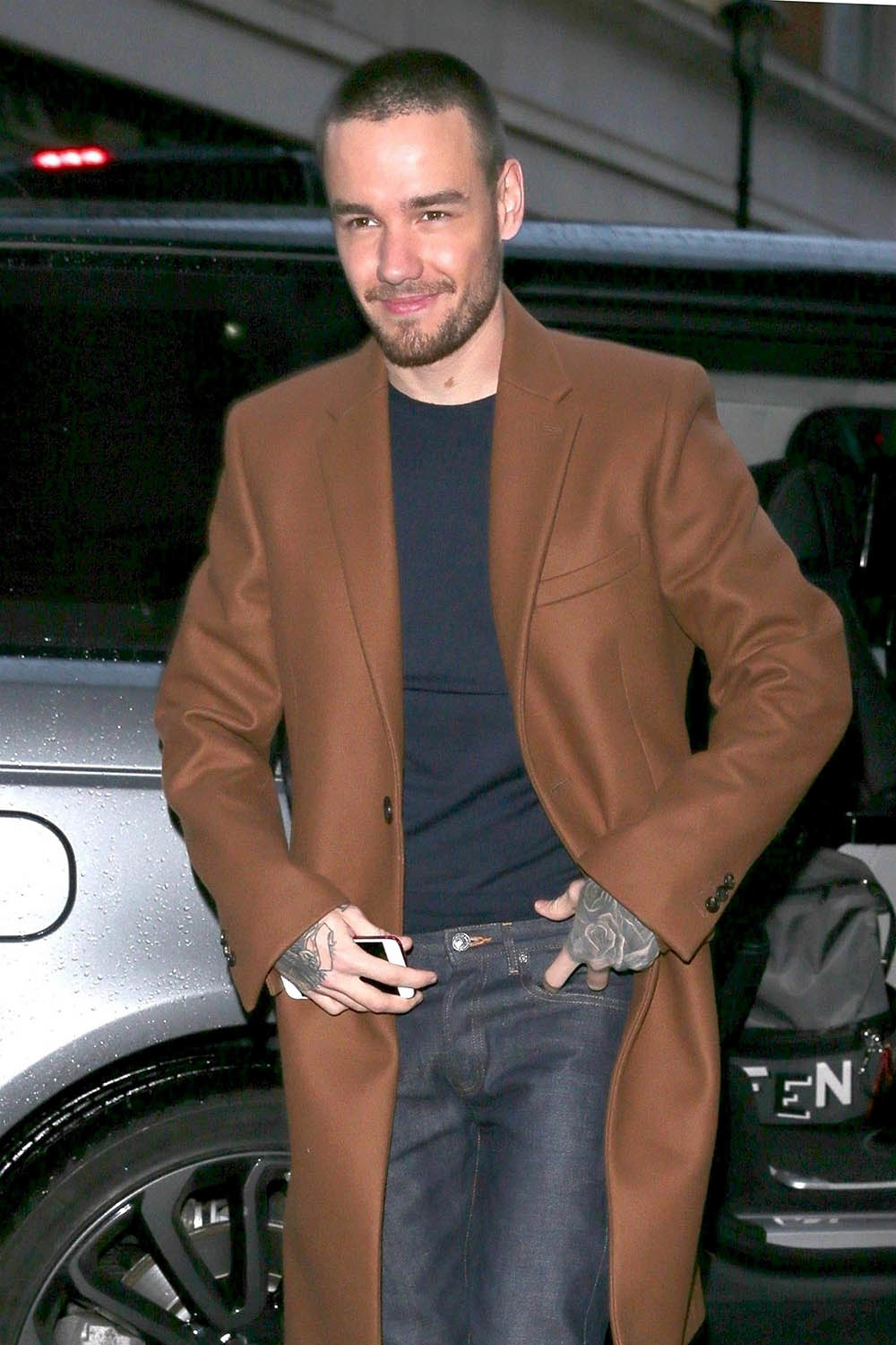 Liam Payne at BBC Radio appearance in London