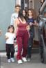 Kourtney Kardashian babysits her niece North West and Scottie and Larsa Pippen's kids