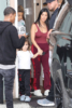 Kourtney Kardashian babysits her niece North West and Scottie and Larsa Pippen's kids