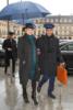 Kate Moss and Nikolai von Bismark arrive back at the Ritz Hotel