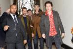 Brooklyn Beckham attend the Louis Vuitton Menswear Fall/Winter 2018-2019 show in Paris