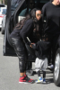 Kelly Rowland and her son Titan head for breakfast at Barrel & Ashes