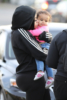 Blac Chyna and daughter Dream at the park