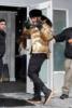 Usher shines in a gold windbreaker at the Sundance Film Festival