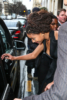 Willow Smith steps out in Paris with a smile