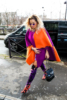 Rita Ora arrives at the Chanel store in Paris