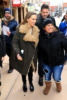 Hilary Swank is all bundled up at the Sundance Film Festival