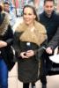 Hilary Swank is all bundled up at the Sundance Film Festival