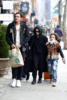 Zoe Kravitz and Karl Glusman with Zoe's siblings Nakoa-Wolf Momoa and Lola Momoa