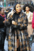 Monica at JAY-Z's Roc Nation Brunch in NYC