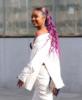 Justine Skye arrives to Roc Nation Brunch