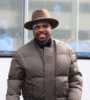 Anthony Hamilton at the Roc Nation luncheon at World Trade Center