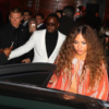 Diddy and Cassie arrive to 1OAK for a Grammy After Party