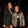 Cari Champion and Jemele Hill attend the Black Panther Hollywood Premiere