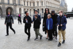 Angelina Jolie takes her kids to the Louvre in Paris