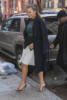 Chrissy Teigen arrives back home in NYC