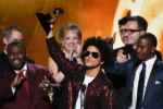 Bruno Mars attend 60th Annual GRAMMY Awards