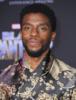 Chadwick Boseman at Film Premiere of Black Panther