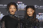 Chloe X Halle at Film Premiere of Black Panther