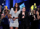 Ciara Wilson, Ariel Winter attend Dick Clark's New Year's Rockin' Eve with Ryan Seacrest 2018